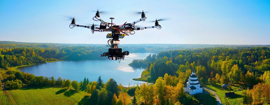 Drones in cinematography