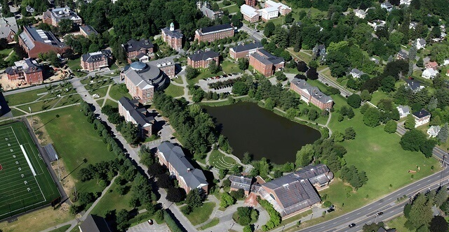 Equipment checkout at Bates College