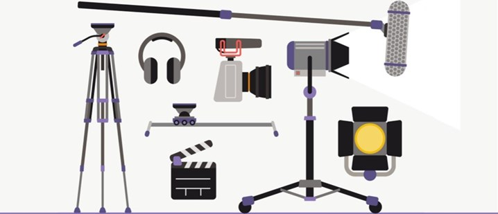 Video production equipment kit